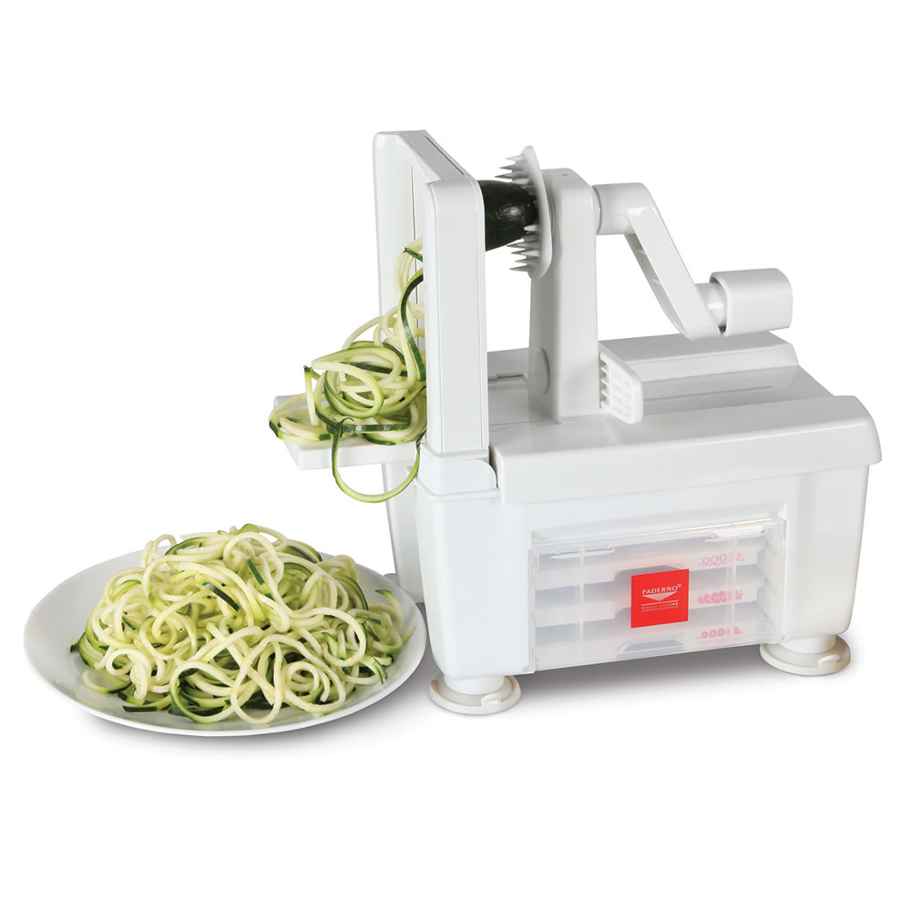 The Four Blade Vegetable Spiralizer 2