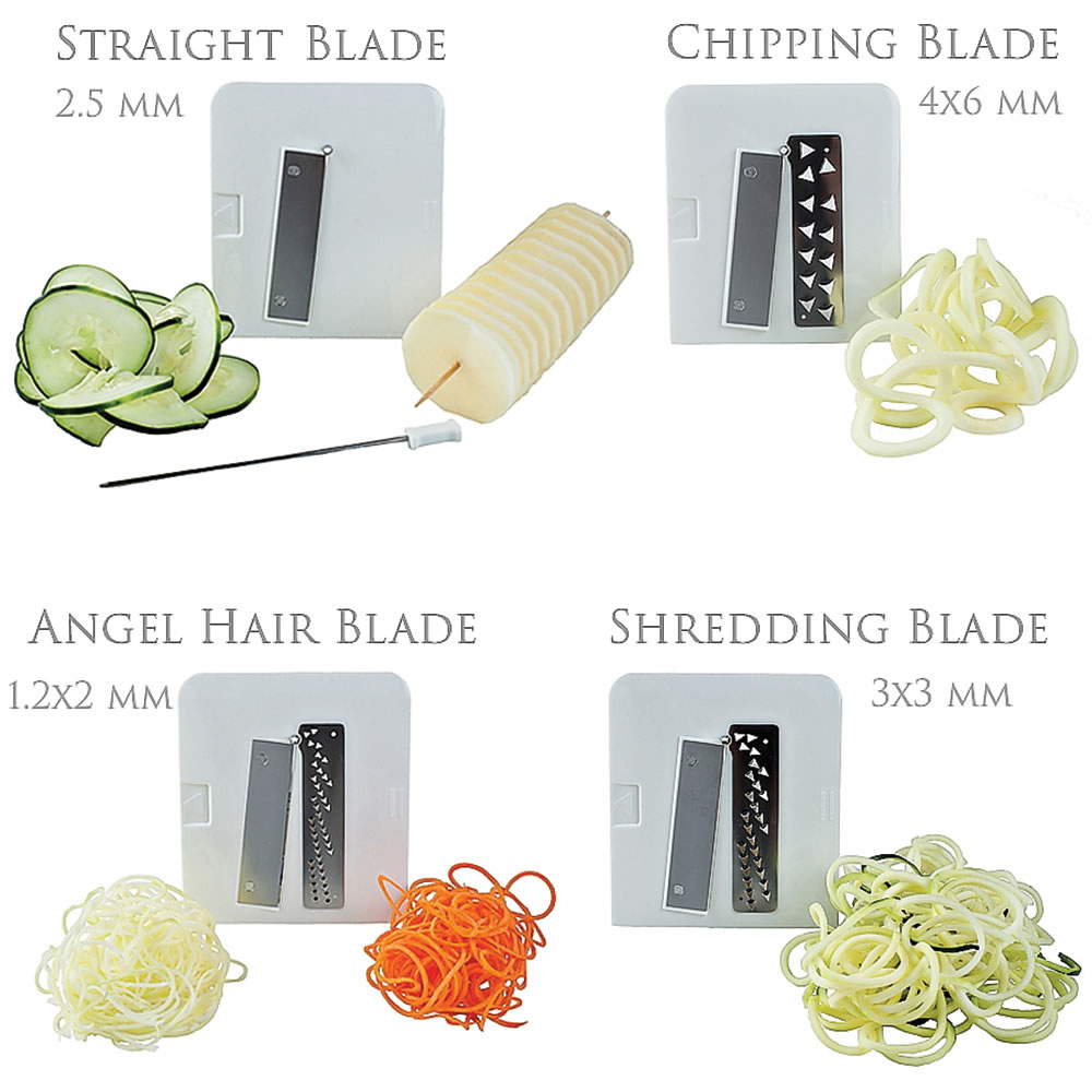 The Four Blade Vegetable Spiralizer 5