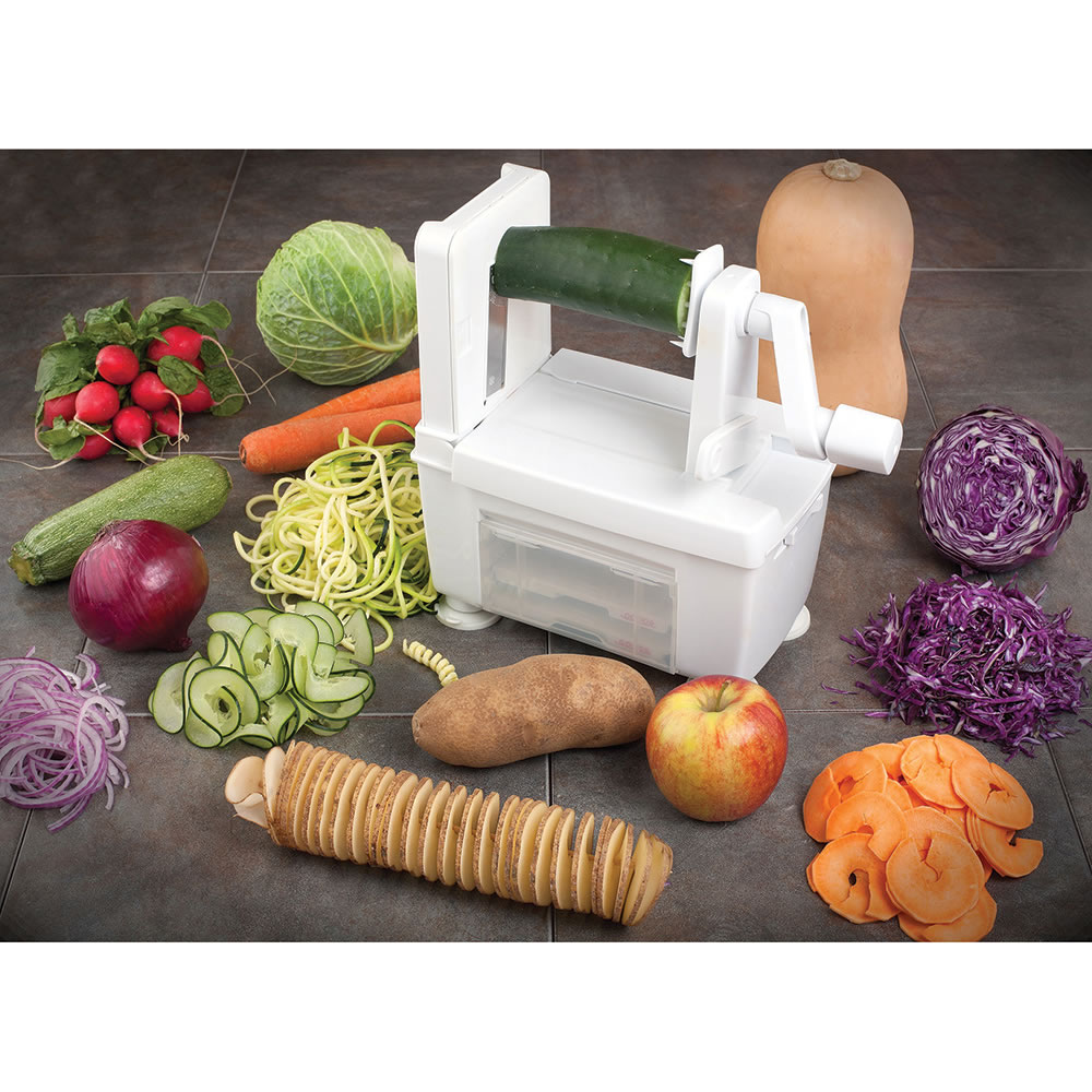 The Four Blade Vegetable Spiralizer 8