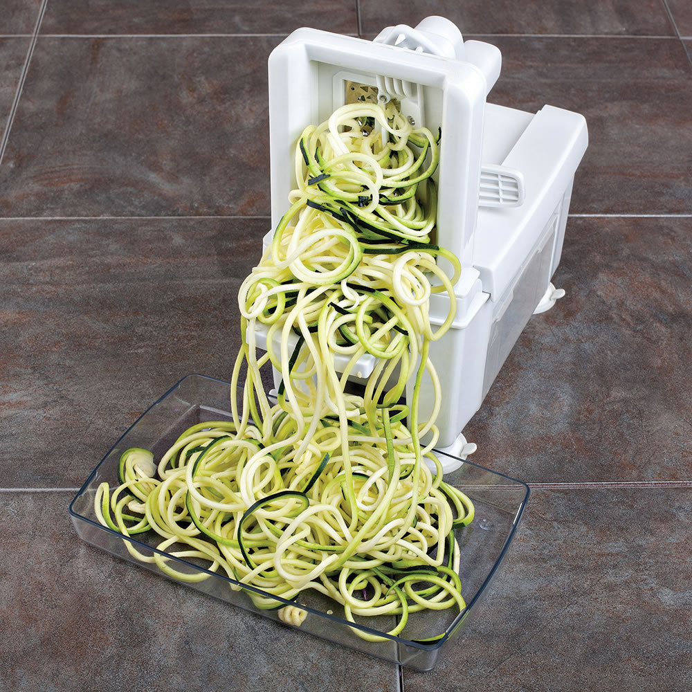 The Four Blade Vegetable Spiralizer 9
