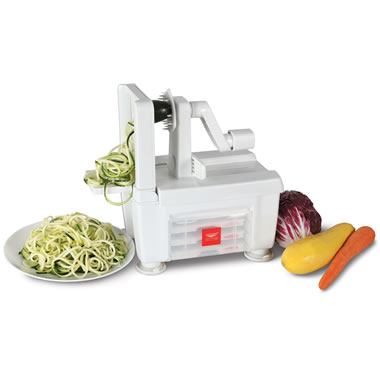 The Four Blade Vegetable Spiralizer.