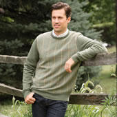 The Machine Washable Hawick Wool Sweater.