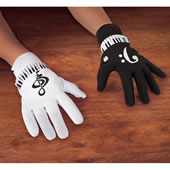The Tap A Tune Musical Gloves.
