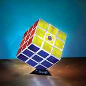 The Rubik's Cube Lamp Puzzle.