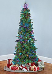 7Ft Shimmering Cashmere Tree