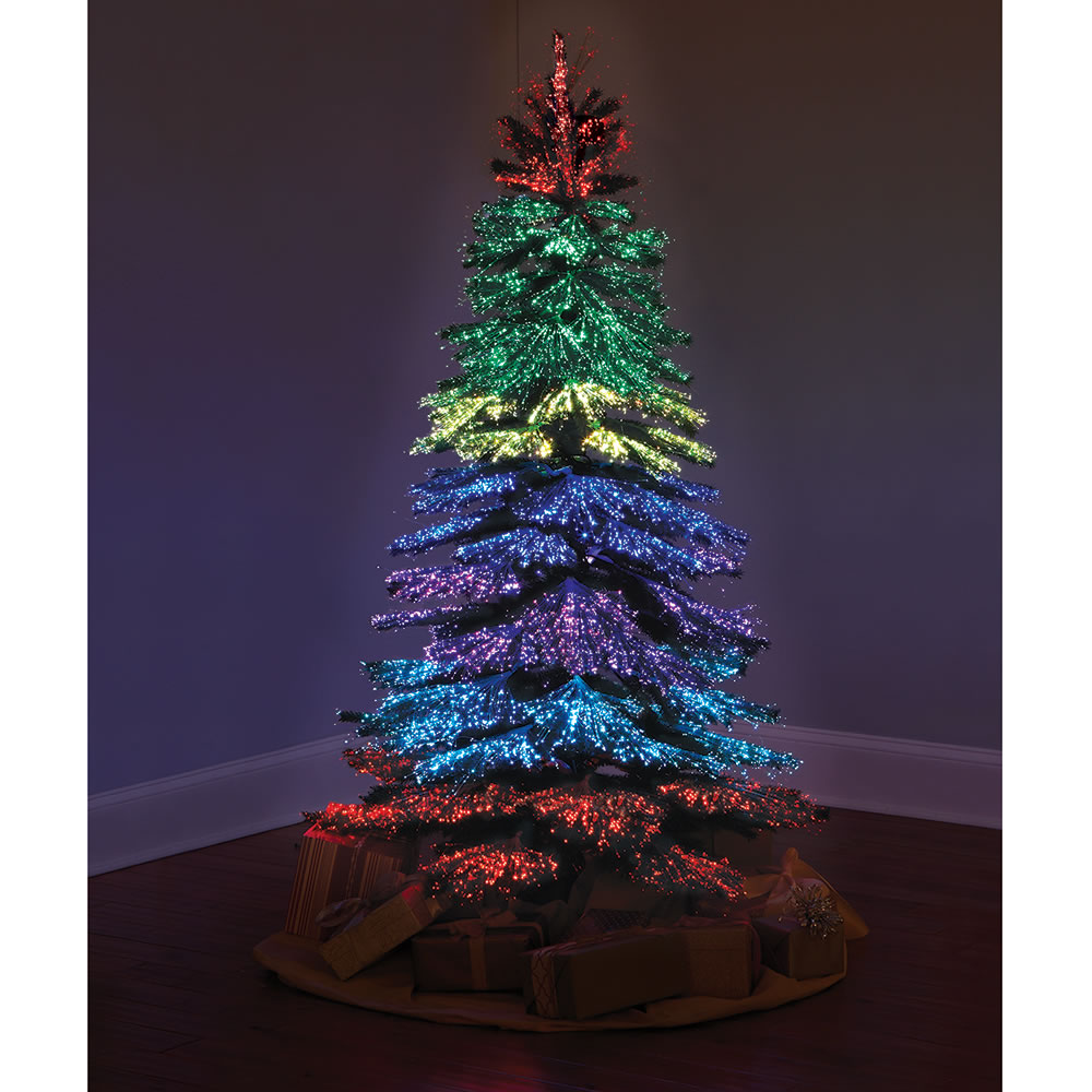 Good Hammacher Schlemmer Christmas Tree Reviews Part - 9: The Thousand Points Of Light Tree