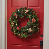 Motion Activated Musical 24 Inch Wreath