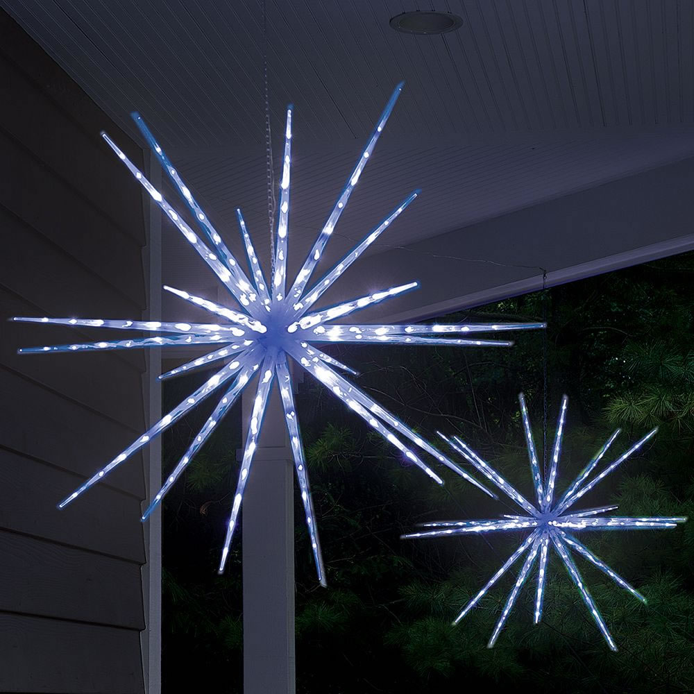 The Moravian Star Light Show - Hammacher Schlemmer