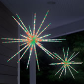 The Moravian Star Light Show.