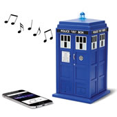The Doctor Who Bluetooth Speaker.