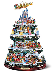The Disney Christmas Carousel Tree.