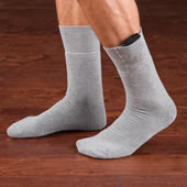 The Heel To Toe Heated Socks.