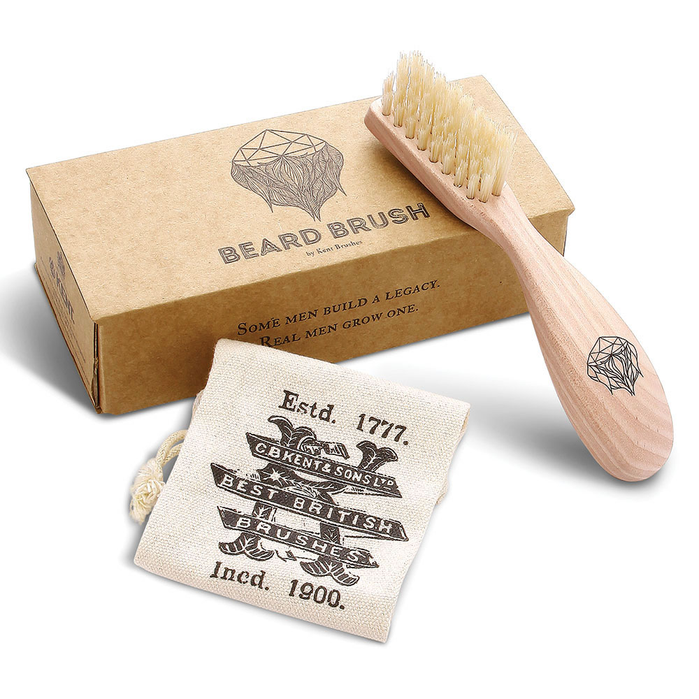 The Royal Warrant Boar Bristle Beard Brush 3