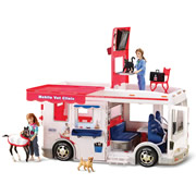 The Young Veterinarian's Mobile Clinic.