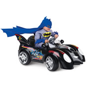 The Young Caped Crusader's Batmobile.