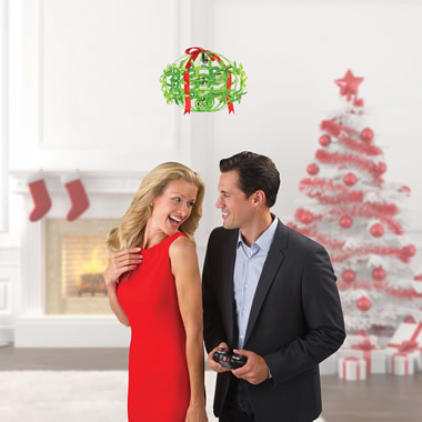 The Mistletoe Drone.