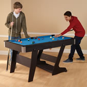 The Foldaway Pool Table.