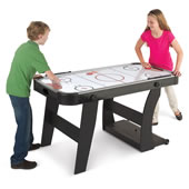 The Foldaway Air Hockey Table.