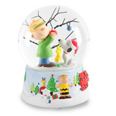 The Peanuts Musical Snowglobe.