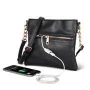 The Phone Charging Purse.