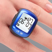 Bluetooth Activity Ring Blue