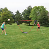 The Instant Family Volleyball Set.