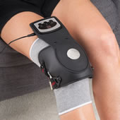 Heated Massaging Knee Pain Reliever     93Whse