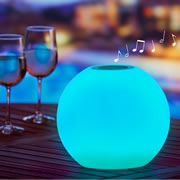 The Prismatic Speaker Sphere.