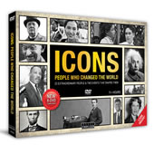 The Icons Who Changed The World DVDs.