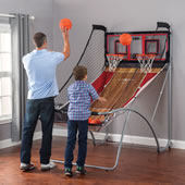 Space Saving Duel Basketball Game