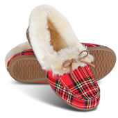 The Lady?s Plantar Fasciitis Cozy Slippers.