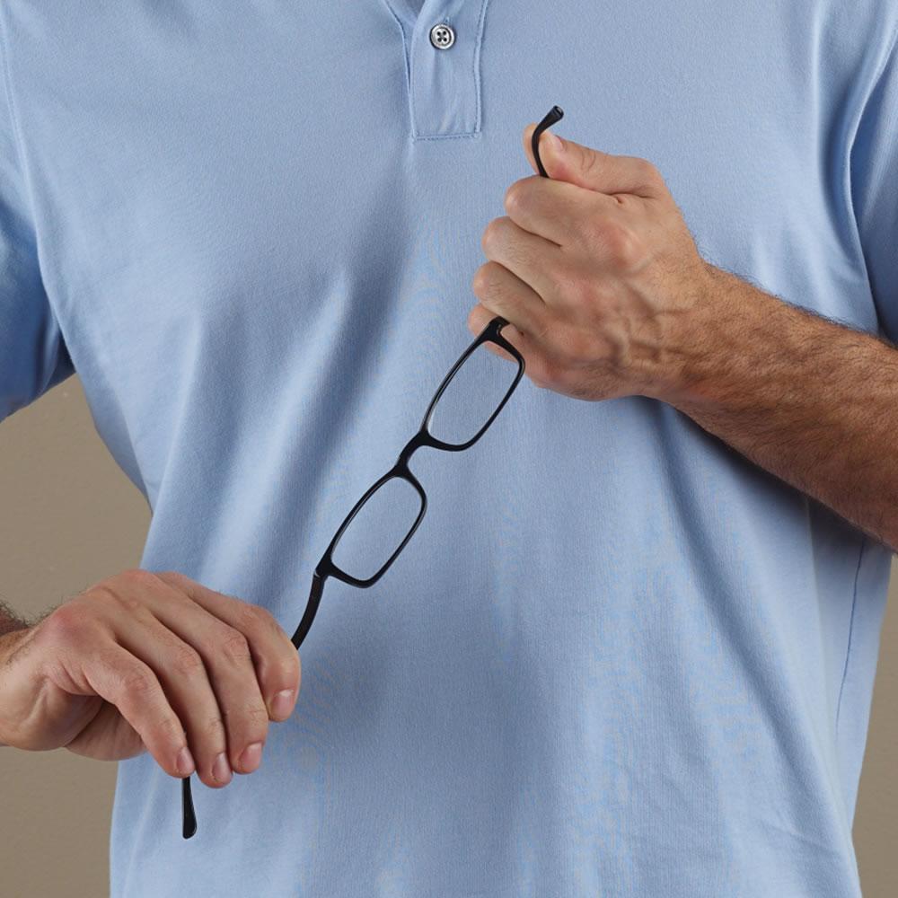 the unbreakable reading glasses hammacher schlemmer