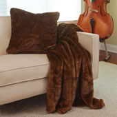 The Faux Fur Throw Pillow.