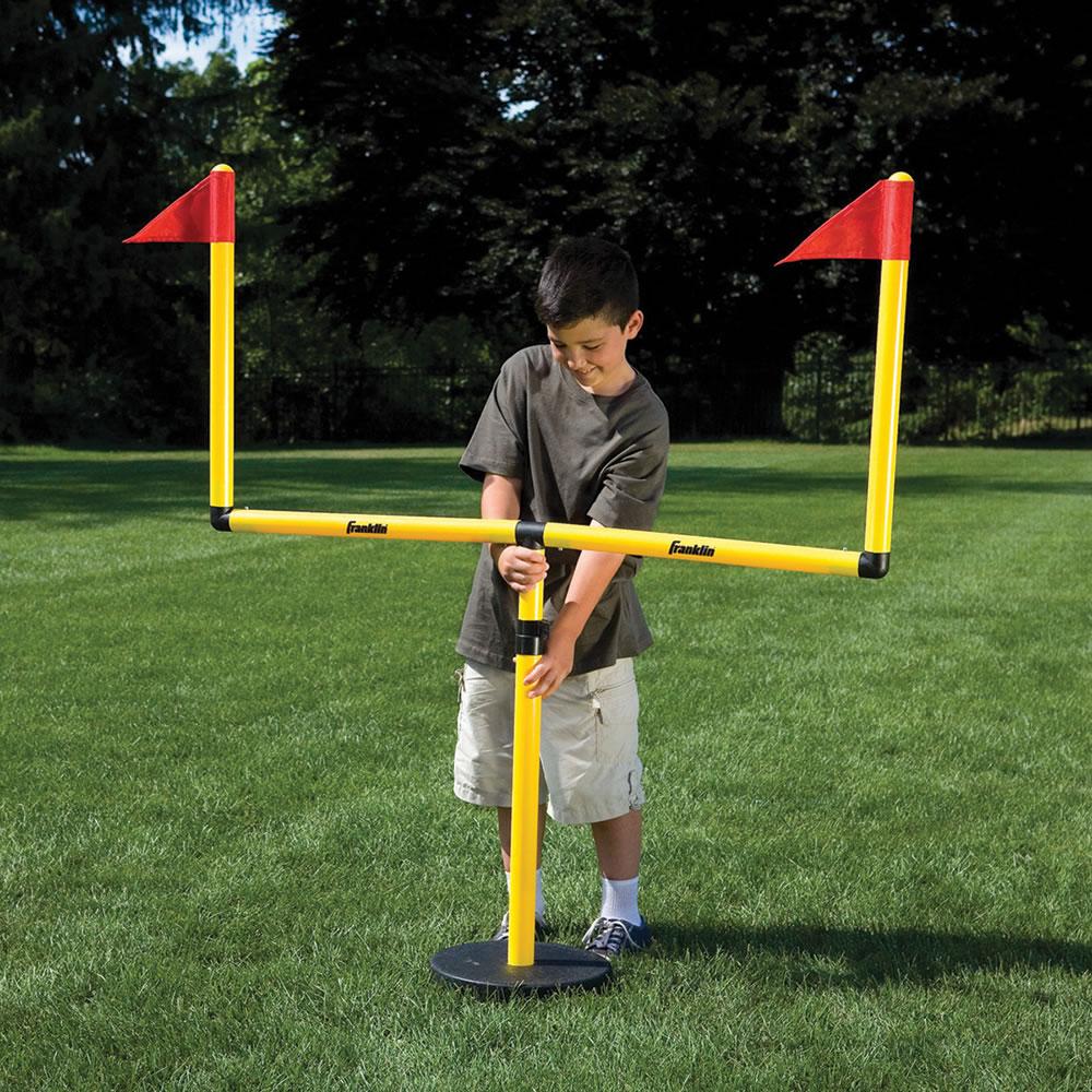 The Winning Field Goal Backyard Goal Post - Hammacher ...