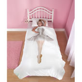 The Future Ballerina's Bedding.