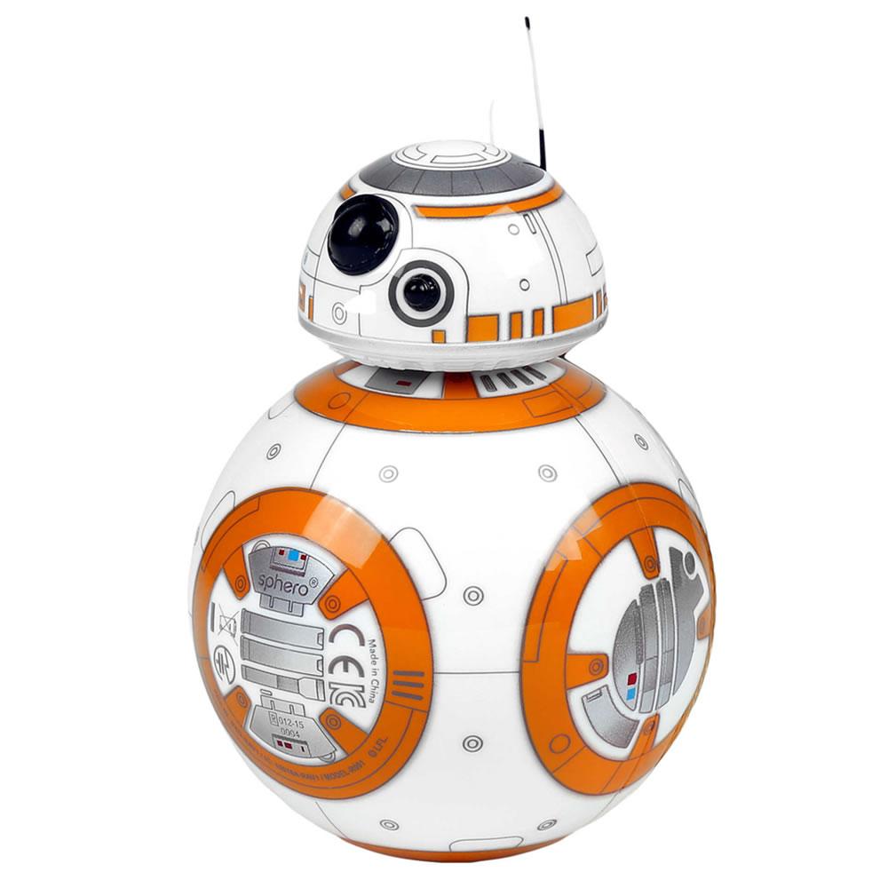 the star wars bb 8 hologram projecting droid hammacher schlemmer. Black Bedroom Furniture Sets. Home Design Ideas