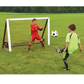 The Instant Portable Soccer Net.