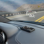 The Windshield Heads Up Display.
