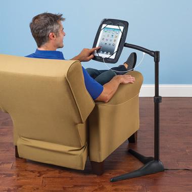 The iPad Charging Floor Stand.