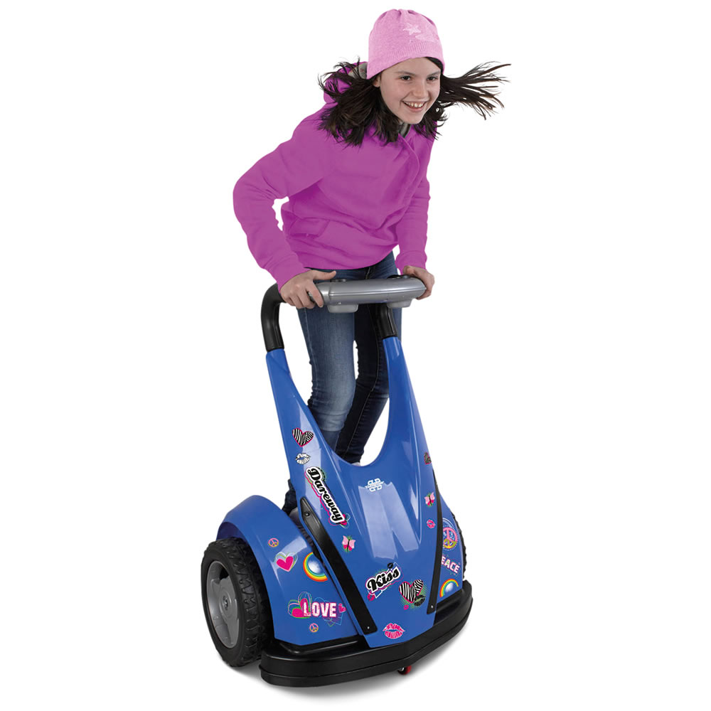 The Child's Motorized Personal Transporter (Blue)5