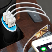 The Rapid Car iPhone Charger.