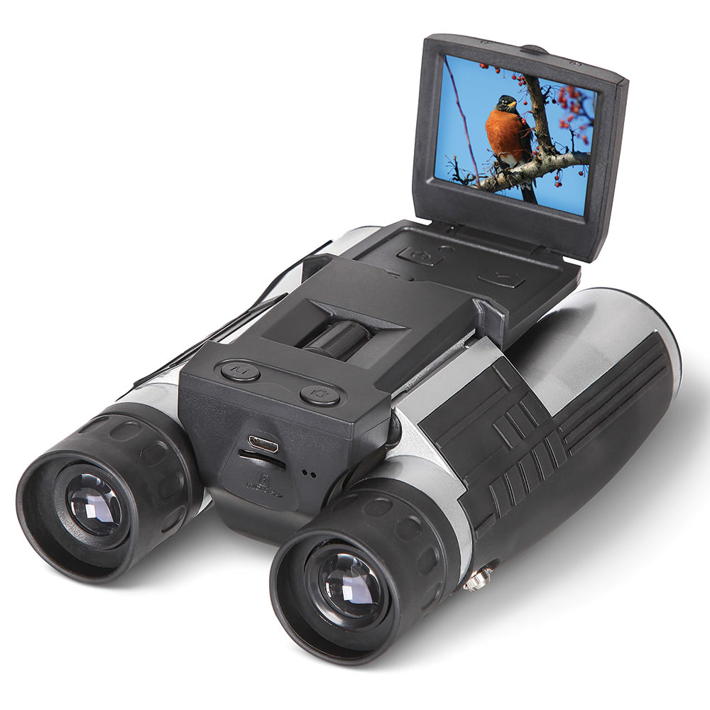 The best digital camera binoculars hammacher schlemmer