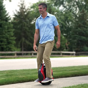 The Electric Self Balancing Transporter.