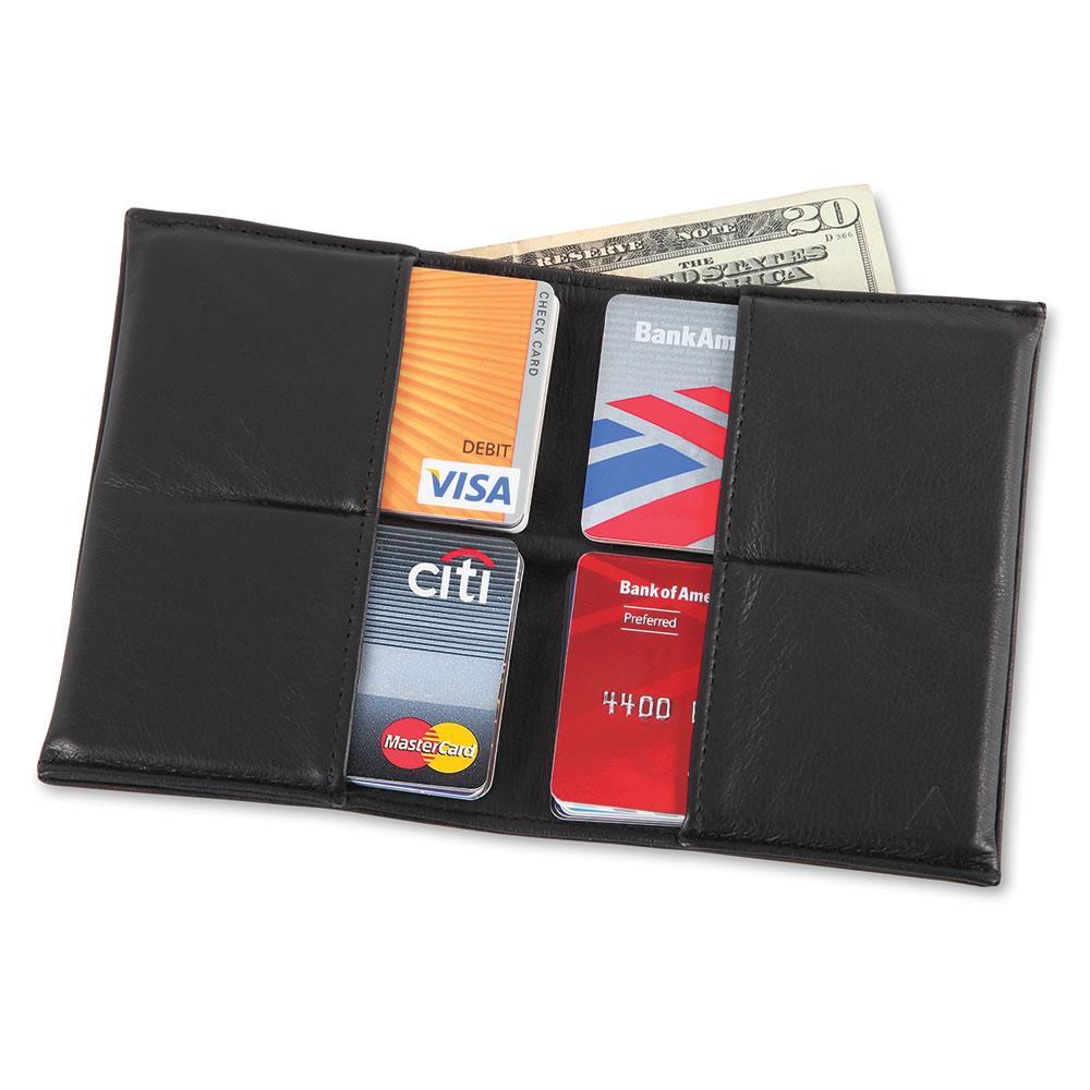 The Florentine Lambskin Ultrathin Wallet 1