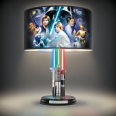 Star Wars Light Saber Lamp