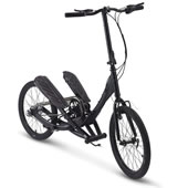 Folding Stepper Bike