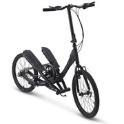 The Foldaway Stepper Bike.