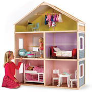 The 6' Tall Dollhouse.