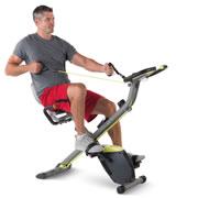 The Stowable Full Body Exercise Bike.