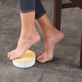 The Only Hands Free Foot Exfoliator.
